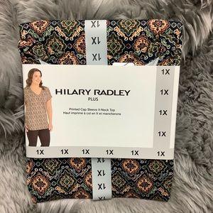 Hilary Radley Women's T-Shirt | V-Neck Top